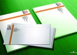 Házkezelő borítéknyomtatás