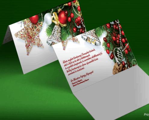 Karácsonyi üdvözlőlap Semmelweis egyetem