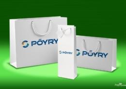 Zsinórfüles papírtáska - Pőyry - 2018, papírtáska gyártás