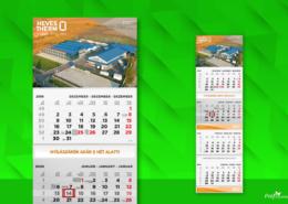 Speditőr naptár referencia - Heves Therm